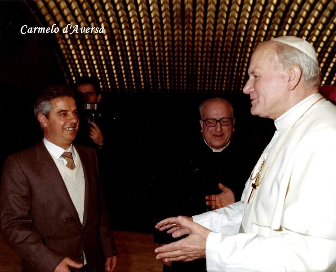 La scuola con papa Wojtyla